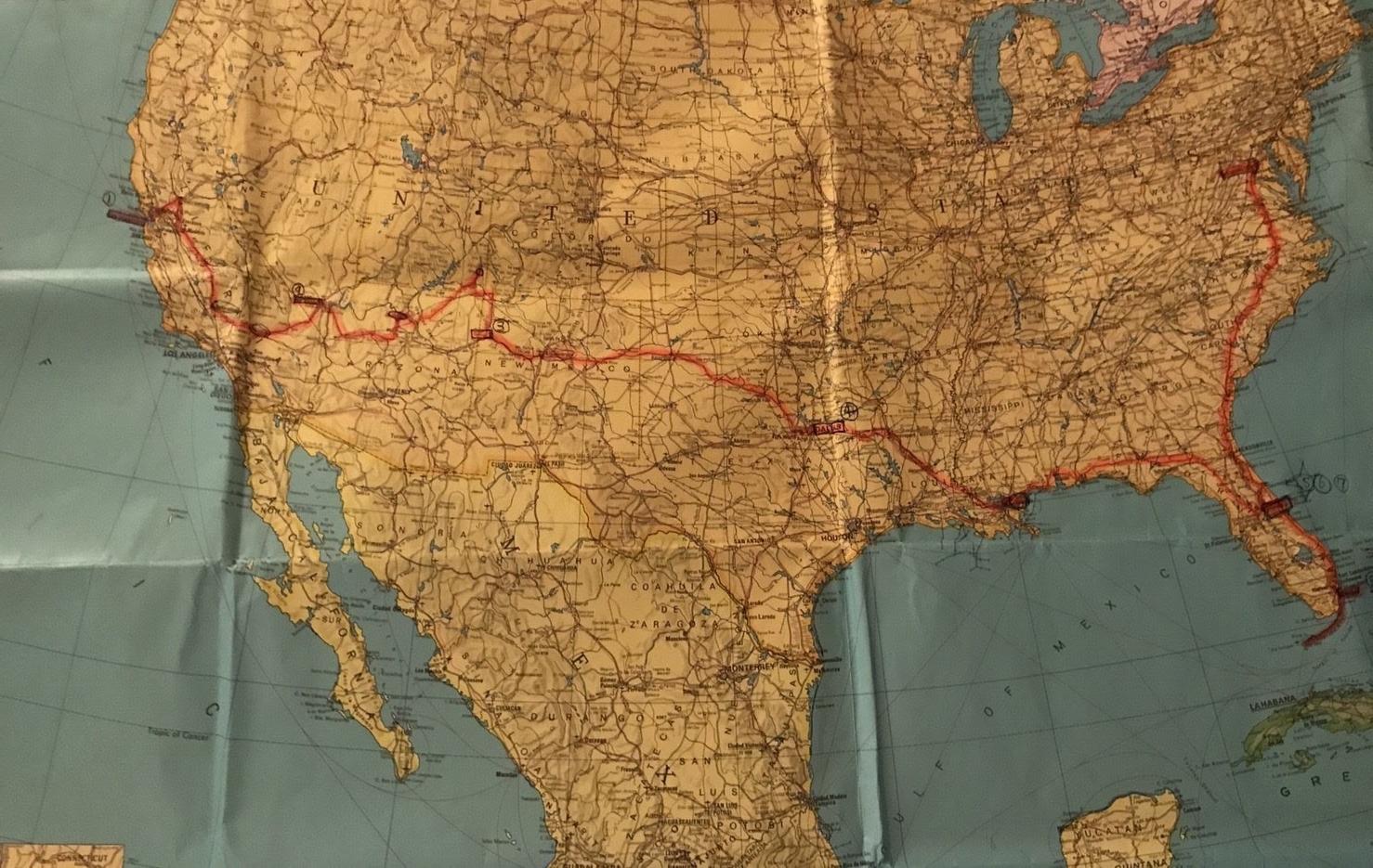 走行距離9400km!アメリカ縦断・横断の体験談を聞いてみた。
